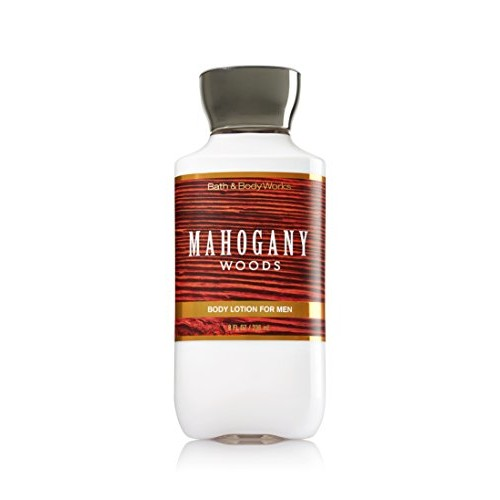 Bath & Body Works Bath and Body Works Mahogany Woods 8 Oz Body Lotion for Men [Mahogany Woods, Lotion]
