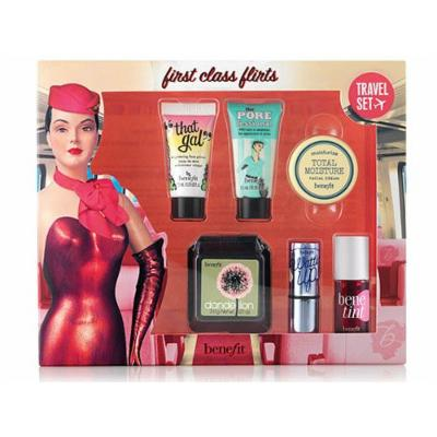 Benefit First Class Flirts Limited-Edition Travel Set Of 6 Best-Sellers, NEW!