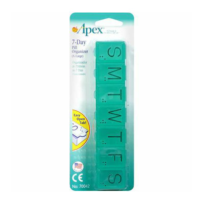Apex : 7-Day (X-Large) Pill Organizer