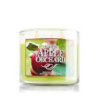 Bath & Body Works 2014 GREEN APPLE ORCHARD 3 Wick Scented Candle 14.5 oz./411 g