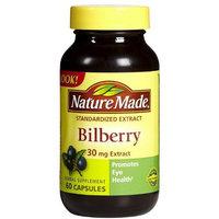 Nature Made Bilberry 30 mg Caps, 60 ct