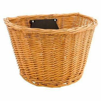 Schwinn Wicker Handlebar Basket - Brown