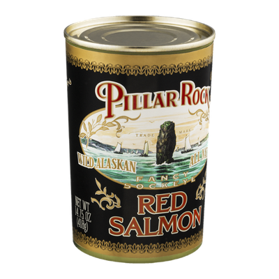 Pillar Rock Wild Alaskan Fancy Sockeye Red Salmon