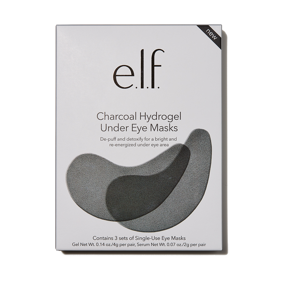 e.l.f. Charcoal Hydrogel Under Eye Masks