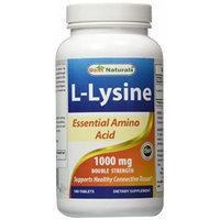Best Naturals L-Lysine 1000mg 180 Tablets