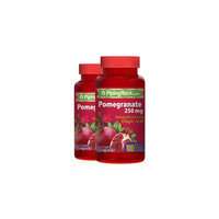 Pomegranate Extract 250 mg (Standardized) 2 Bottles x 100 Capsules