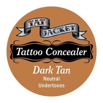 Tatjacket Concealer, Dark Tan, 0.5 Ounce