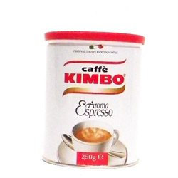 Kimbo Aroma Ground Espresso Coffee - 8.8 oz.