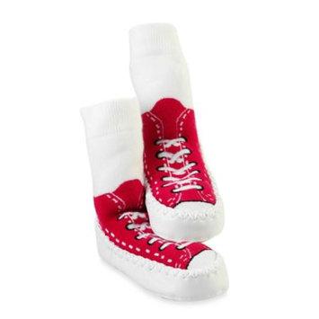 Sock-ons Sock Ons Mocc Ons Red Sneaker Slipper Socks
