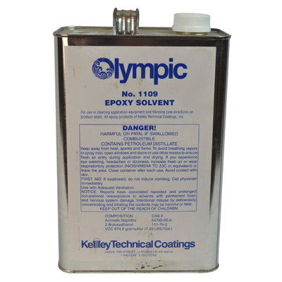 Topo-logic Systems, Inc. TOPO-LOGIC SYSTEMS, INC. Epoxy Thinner - TOPO-LOGIC SYSTEMS, INC.