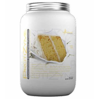 Metabolic Nutrition Protizyme, Vanilla Cake, 2 Pound