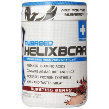 Nubreed Nutrition Helix BCAA Diet Supplement, Berry, 339 Gram