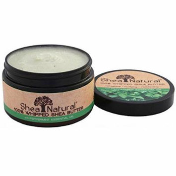 Shea Natural Whipped Shea Butter, Peppermint Essential Oil 3.2 oz