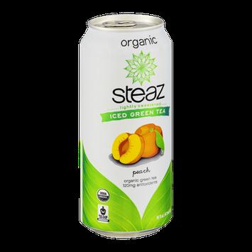 Steaz Iced Green Tea Organic Peach