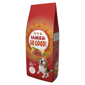 Procter & Gamble Iams So Good Wholesome Blends with Hearty Beef Adult Dry Dog Food 6.3