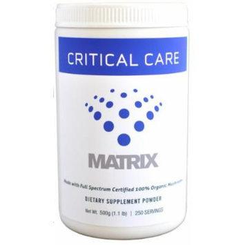 Mushroom Matrix Critical Care Matrix Drink Powder, 500-Grams