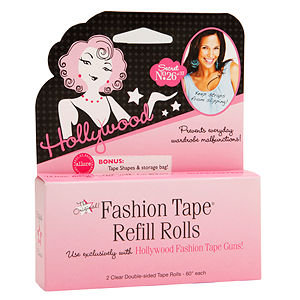 Hollywood Fashion Secrets Inc Hollywood Fashion Secrets Fashion Tape Gun Refill Rolls