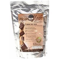 MegaOne Chocolate Meal Replacement Shake - Non-GMO Diet & Weight Loss, Hunger Control, Energy - Vegetarian High Protein Powder - Natural Gluten-Free Superfoods