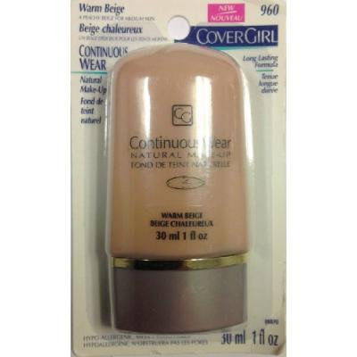 COVERGIRL Continuous Wear Natural Make up Original Formula Full Size