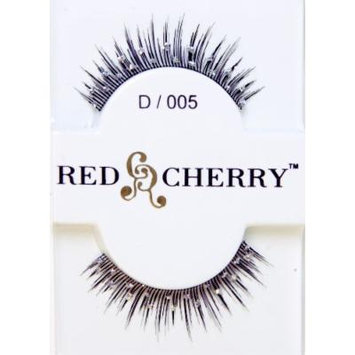 Red Cherry Fashion Faux Eyelash Extensions--Straight with Glitter Dots