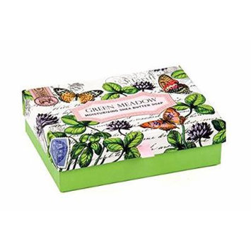 Michel Design Works Double Soap Box Set, Green Meadow