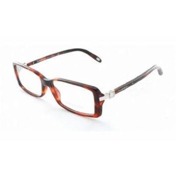 TIFFANY Eyeglasses TF 2060G 8141 Red Havana 55MM