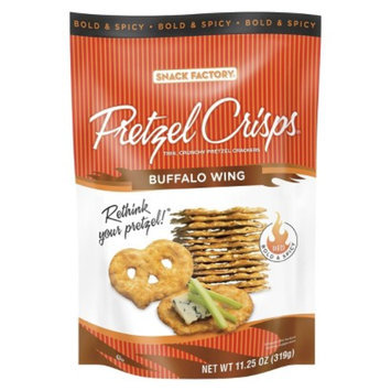 Pretzel Crisps Buffalo Wing Pretzel Crackers 11.25 oz