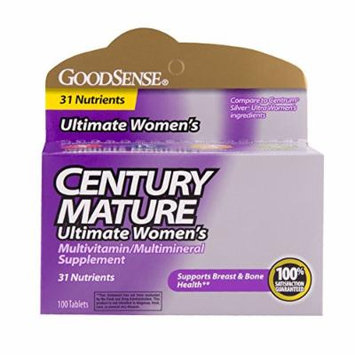 GoodSense Century Mature Women's Multivitamin, 100 Count