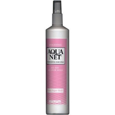 Aqua Net Unscented Non Aerosol Extra Super Hold Hairspray 14 oz (Pack of 2)