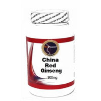 China Red Ginseng (Hong Ren Shen) 900mg 100 Capsules # BioPower Nutrition