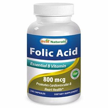 Best Naturals Folic Acid 800mcg 240 Capsules