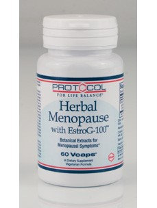 Protocol For Life Now Foods Protocol Herbal Menopause with EstroG 100 60vc