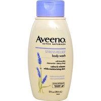 Aveeno® Aveeno Active Naturals Body Wash Stress Relief Lavender Chamomile and Ylang - Ylang -- 12 fl oz