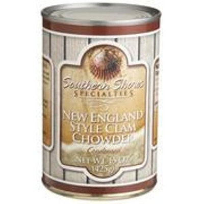 Southern Shores Specialties Clam & Corn Chowder, 15-Ounce Cans (Pack of 4)