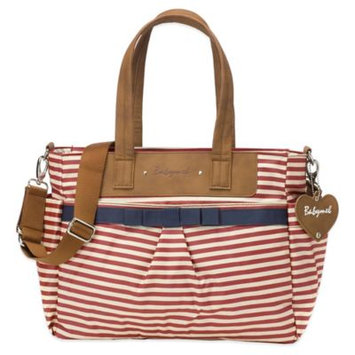 Babymel Cara Diaper Bag in Red Stripe