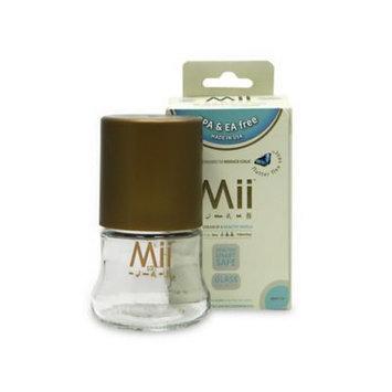 Mii Baby Glass Nurser Bottle Size: 4 oz.