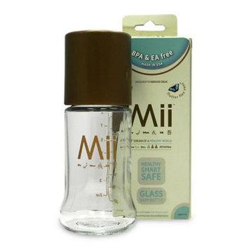 Mii Baby Glass Nurser Bottle Size: 8 oz.