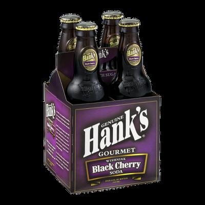 Hank's Gourmet Wishniak Black Cherry Soda - 4 PK