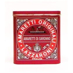 Amaretti di Saronno Cookies Red Gift Tin by Lazzaroni