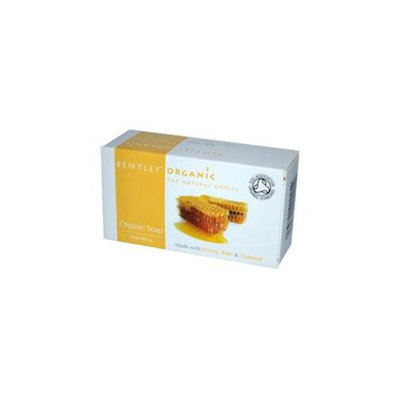 Bentley Organic 0600882 Organic Soap, Smoothing, Honey, Bran & Oatmeal, 5. 3 oz - 150 g - 5. 3 oz