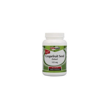 Vitacost Brand Vitacost Grapefruit Seed Extract -- 125 mg - 300 Capsules