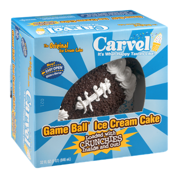 Carvel Ice Cream Cake Game Ball