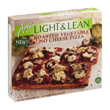 Amy's Light & Lean Roasted Vegetable No Cheese Pizza