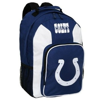CONCEPT ONE NFL Indianapolis Colts Southpaw Team Color Backpack - School Supplies