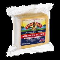 Land O'Lakes Premium Deli Cheese American Slices Yellow