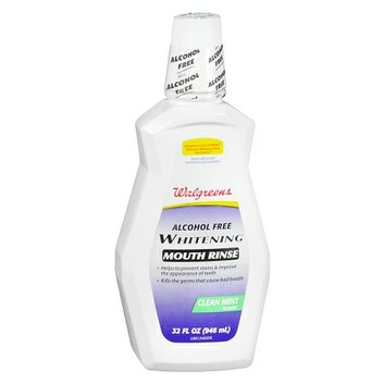 Walgreens Whitening Mouth Rinse Mint