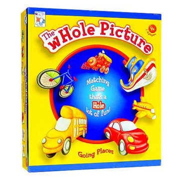 PlayAbility Toys WHOLE Picture Match Game Going Places