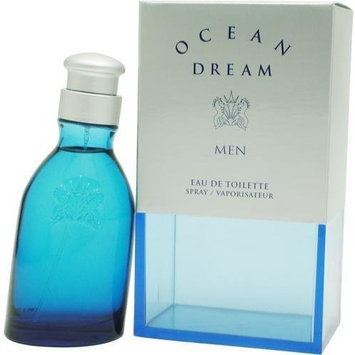 Ocean Dream Ltd By Designer Parfums Ltd For Men. Eau De Toilette Spray 3.4 Ounces