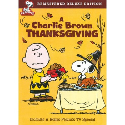 Warner Brothers A Charlie Brown Thanksgiving Deluxe Edition Dvd from Warner Bros.