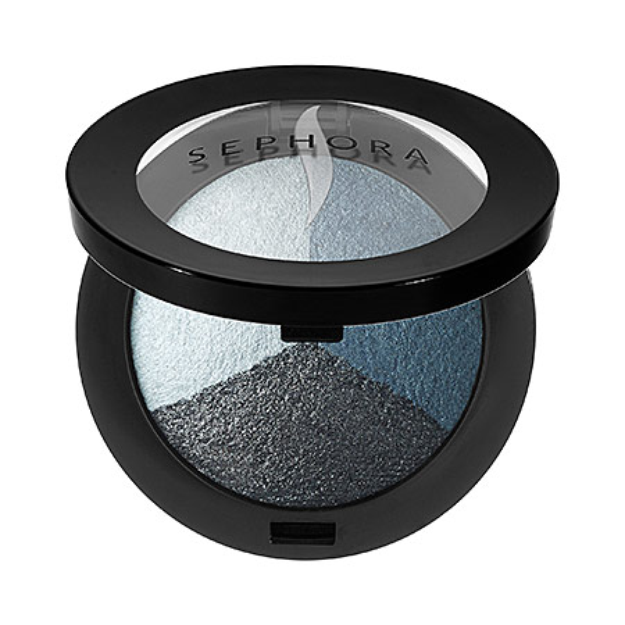 SEPHORA COLLECTION MicroSmooth Baked Eyeshadow Trio 12 Blue Lagoon